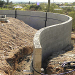 Curved Wall Install